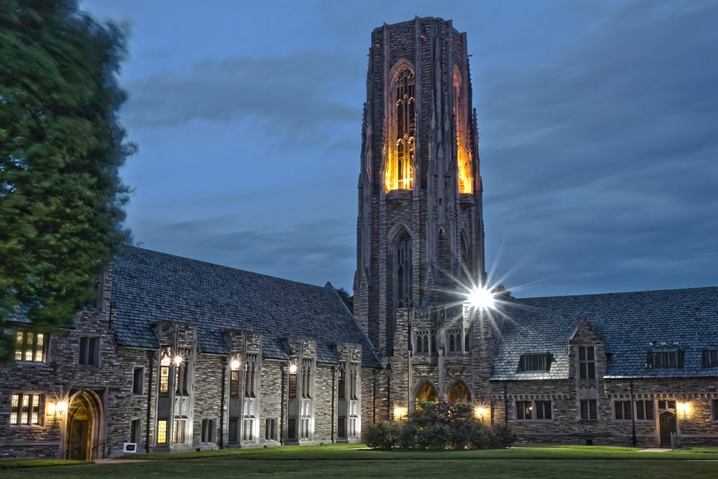 The campus of Concordia Seminary, St. Louis. Photographed by Mark Polege.